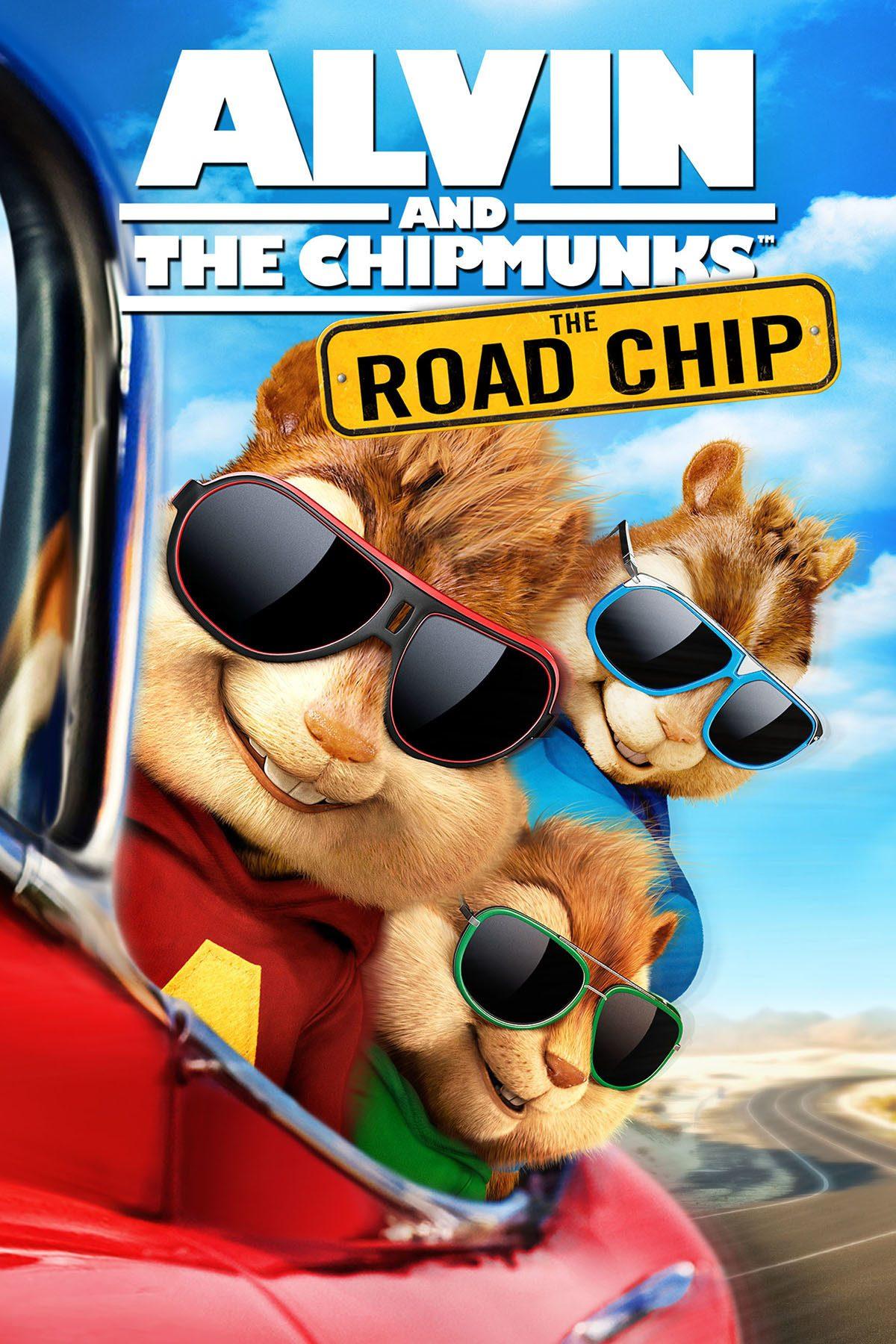 """Plakat dla """"Alvin i wiewiórki: Wielka wyprawa"""""""