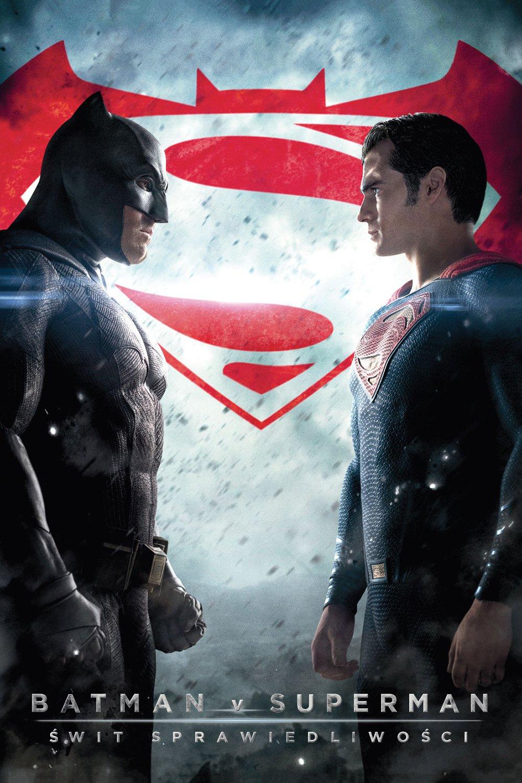 """Plakat dla """"Batman vs. Superman: Świt sprawiedliwości"""""""