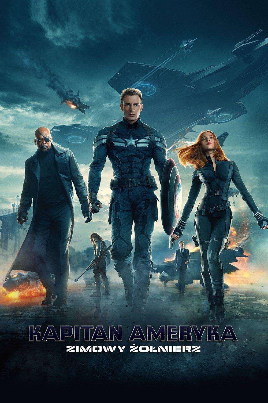 """Plakat dla """"Kapitan Ameryka: Zimowy żołnierz"""""""