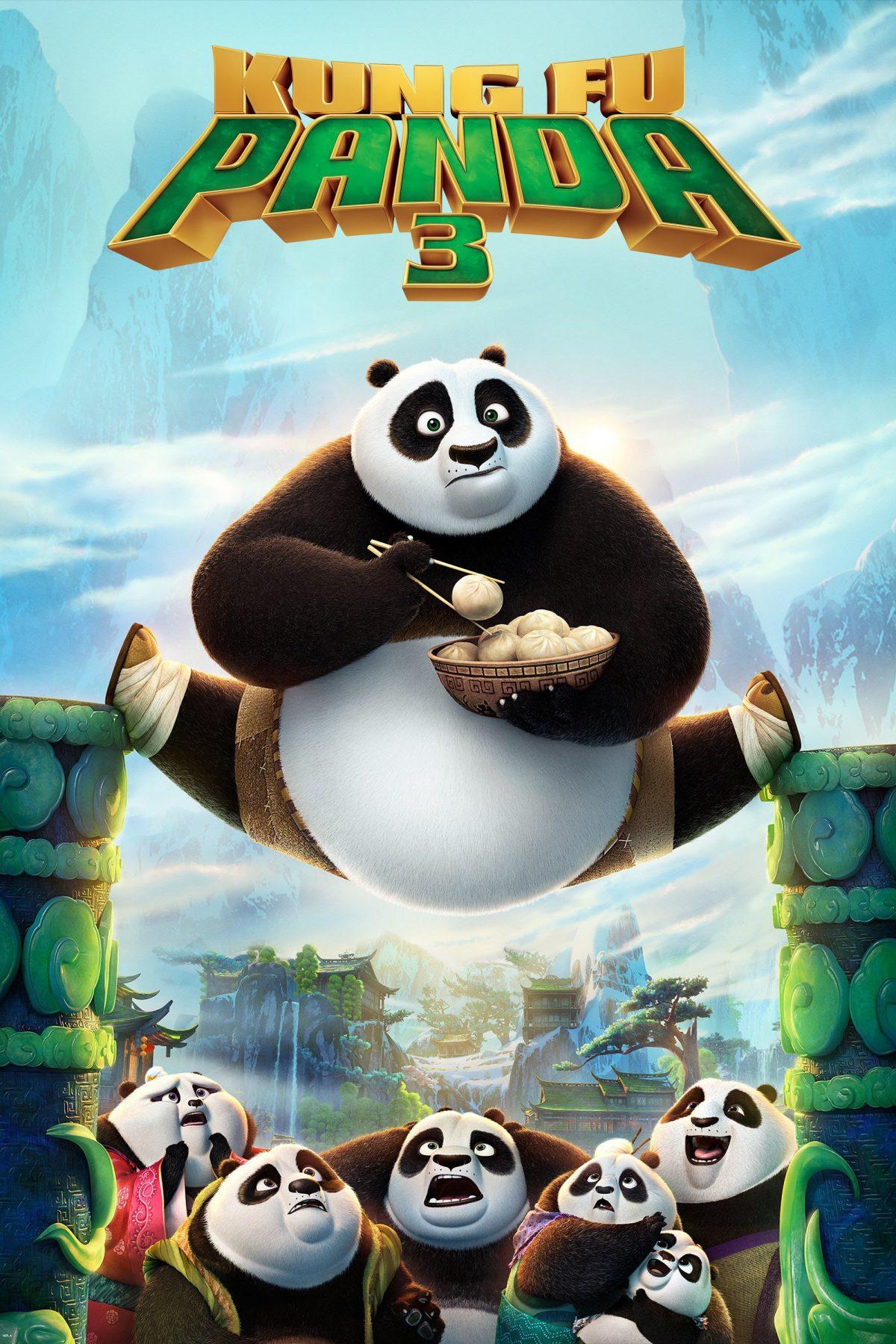 """Plakat dla """"Kung Fu Panda 3"""""""