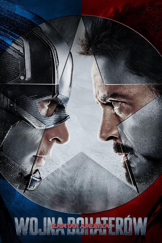 """Plakat dla """"Kapitan Ameryka: Wojna bohaterów"""""""