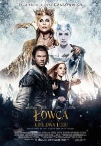 """Plakat dla """"Łowca i Królowa Lodu"""""""