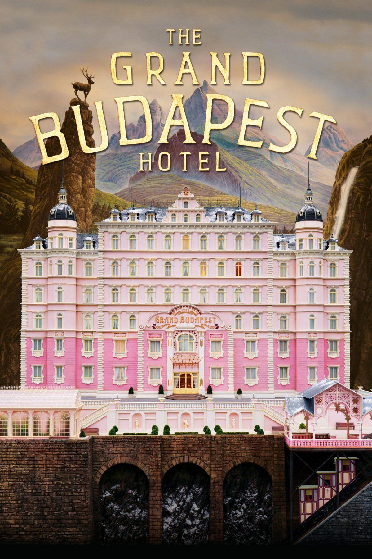 """Plakat dla """"Grand Budapest Hotel"""""""