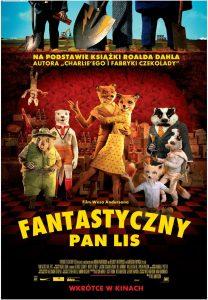 "Plakat dla ""Fantastyczny Pan Lis"""