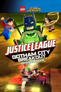 """Plakat dla """"Lego Liga Sprawiedliwości: Na ratunek Gotham"""""""