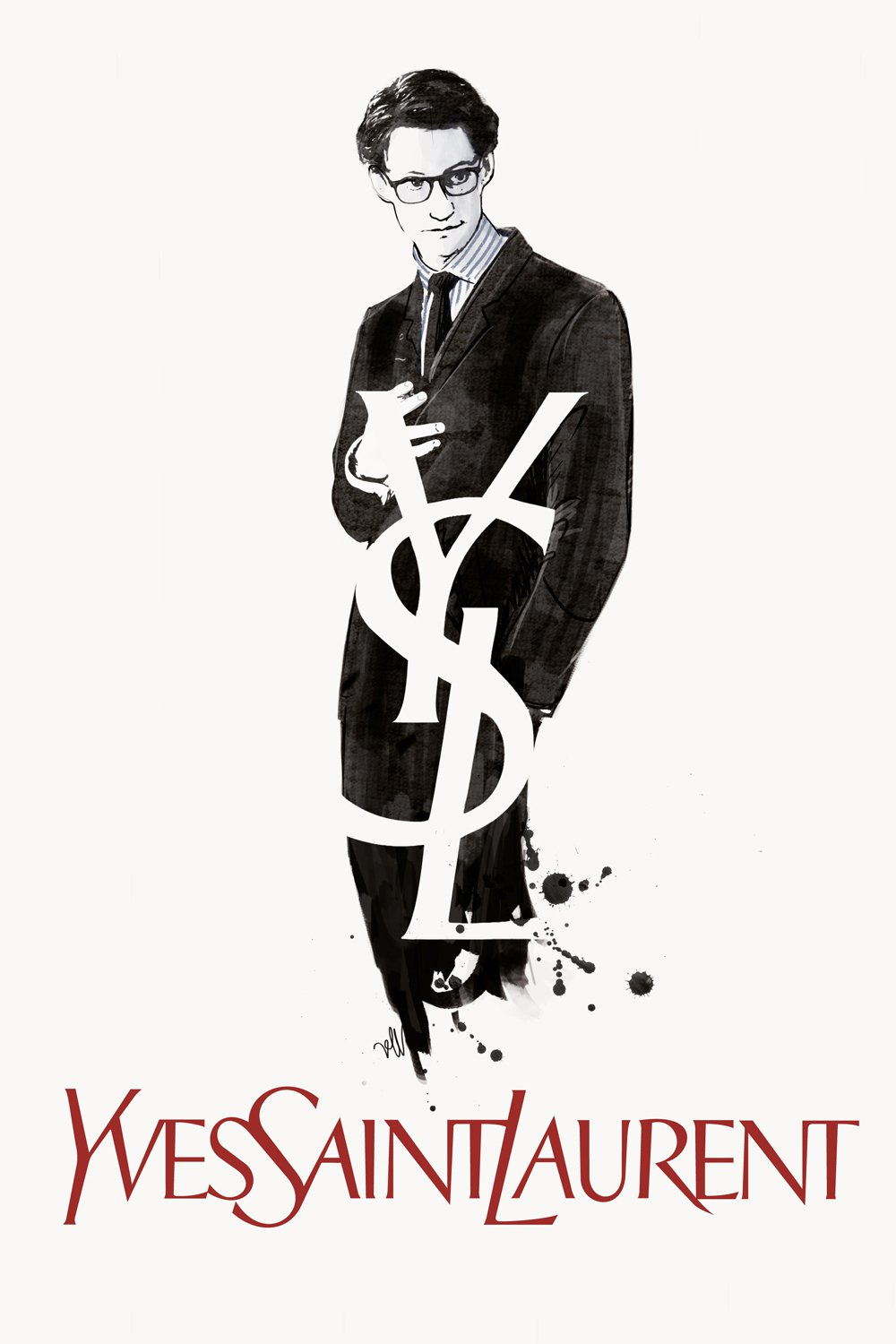 "Plakat dla ""Yves Saint Laurent"""