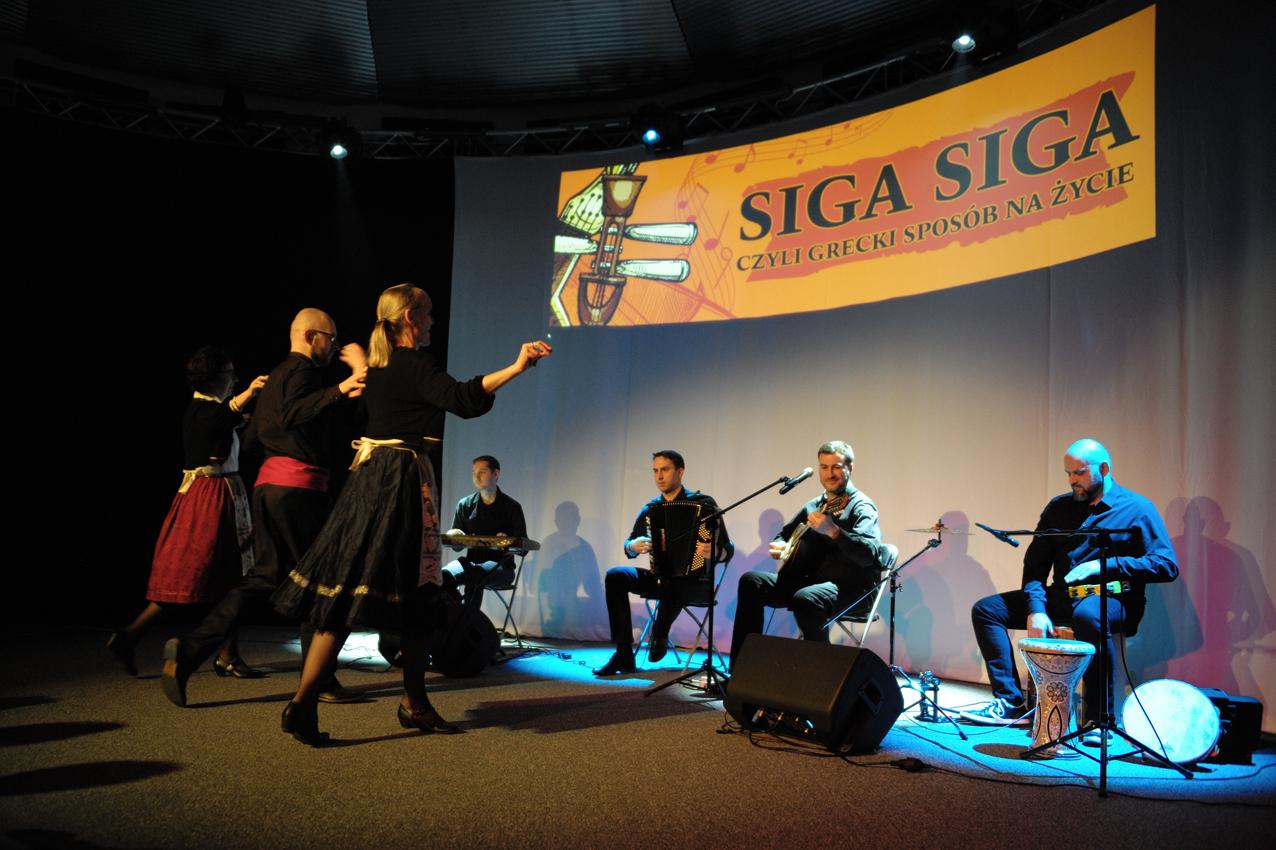 Siga-siga - wieczór grecki