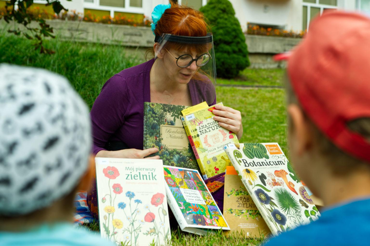 Biblioteka Roślin w przedszkolach